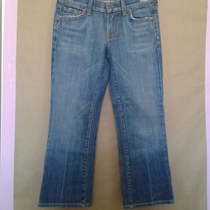 CITIZENS OF HUMANITY Size 25 Ladies Cropped Jeans